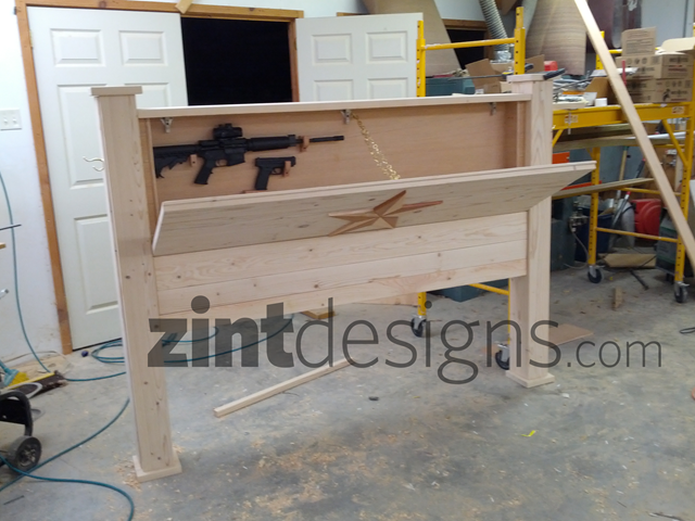 Custom Furniture With Hidden Compartments Headboard