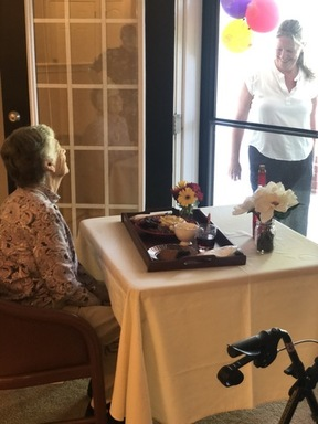 Laura Rice's 91st birthday at Waltonwood