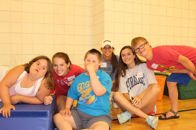 Students Turn Counselors At Esd S Camp For Special Needs Children
