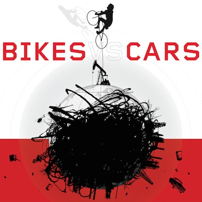 Bikes vs Cars movie at Texas Theatre in Dallas.