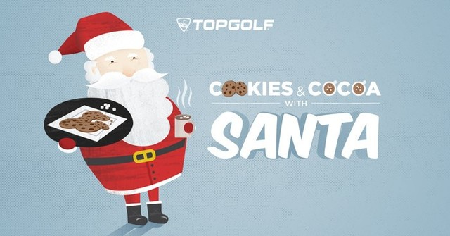 Cookies Santa Topgolf