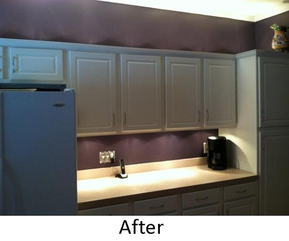 After Cabinet Lighting by Highland Park Handyman